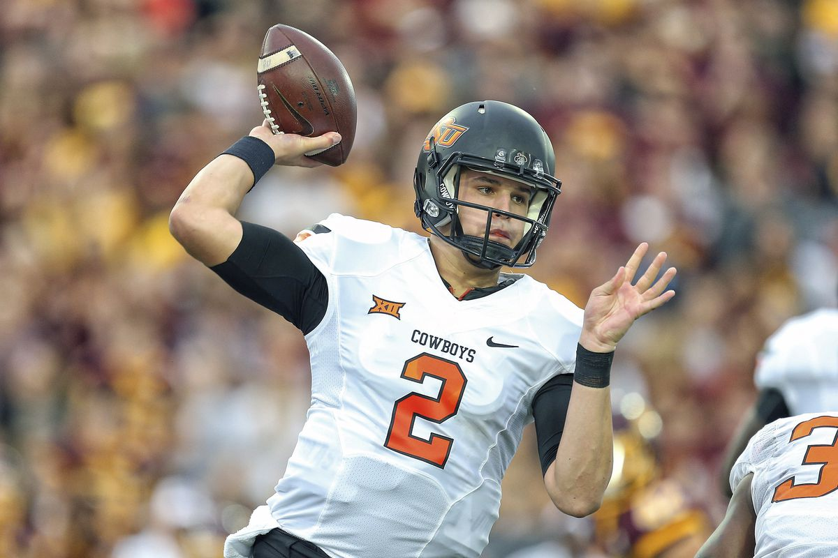 Mason Rudolph sparked the Oklahoma State offense against Central Michigan.