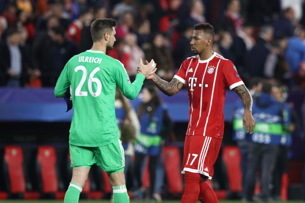 Sevilla FC v Bayern Muenchen - UEFA Champions League Quarter Final Leg One