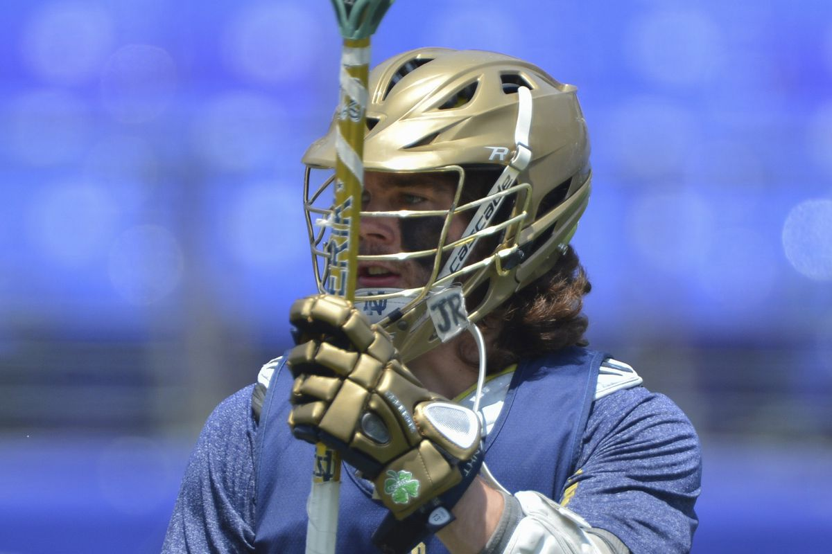 Matt Kavanagh scored and had 3 assists for the Irish in their win over no. 1 Syracuse on Saturday.