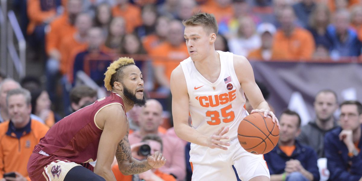 Syracuse escapes against Boston College, 67-56 - Troy Nunes Is An Absolute Magician