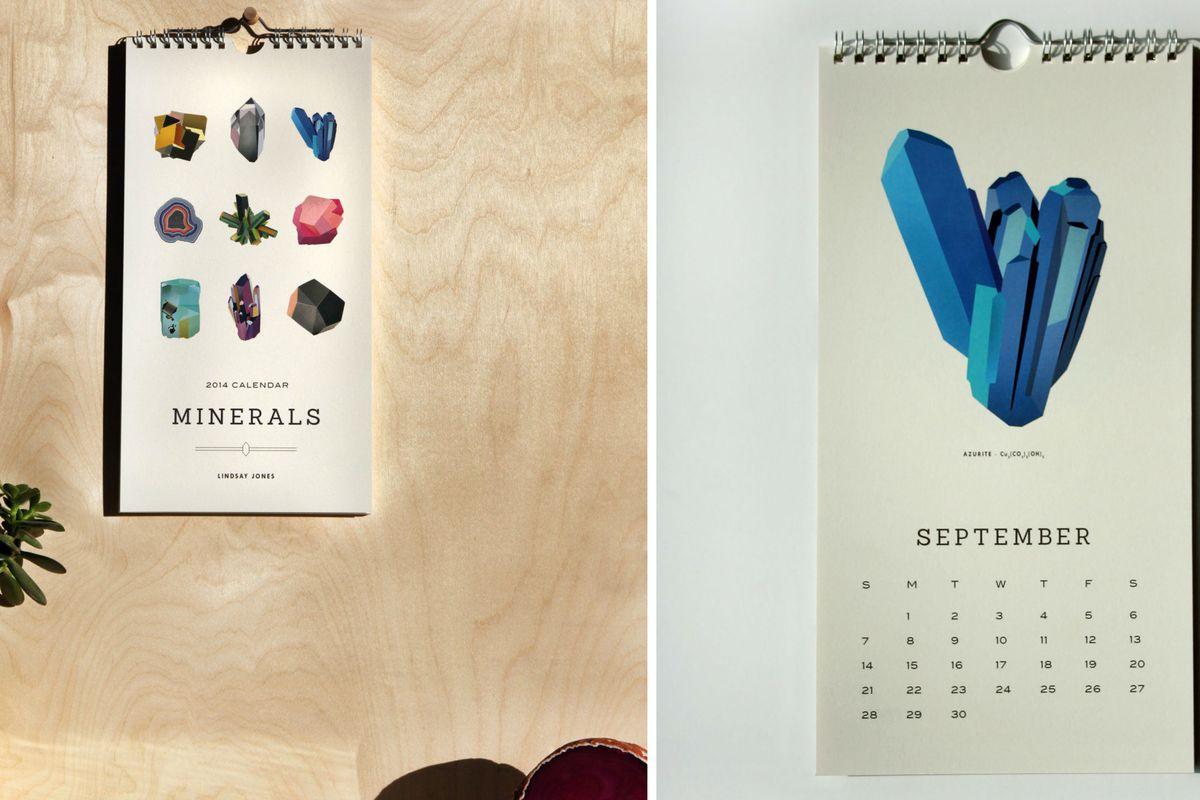 2014 Minerals Calendar