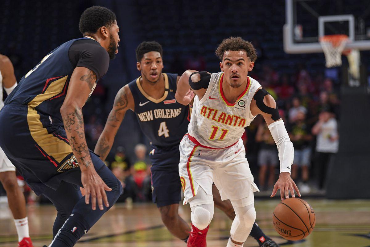 NBA: Preseason-New Orleans Pelicans at Atlanta Hawks