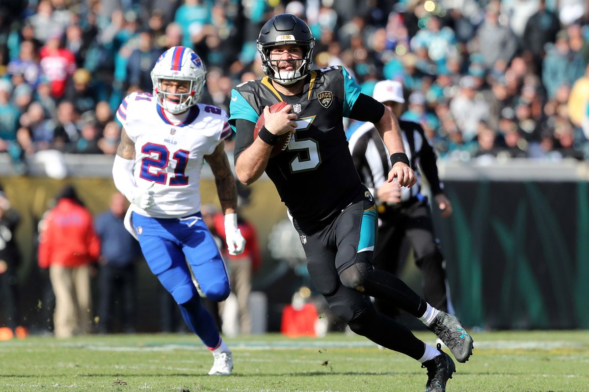 Blake Bortles  performance against the Bills would have made Tim Tebow proud ae63da505