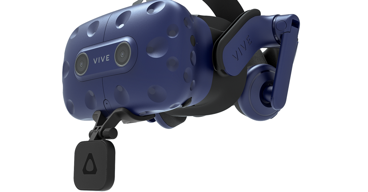 HTC announces Vive Pro lip tracking module and new VR body trackers - The Verge