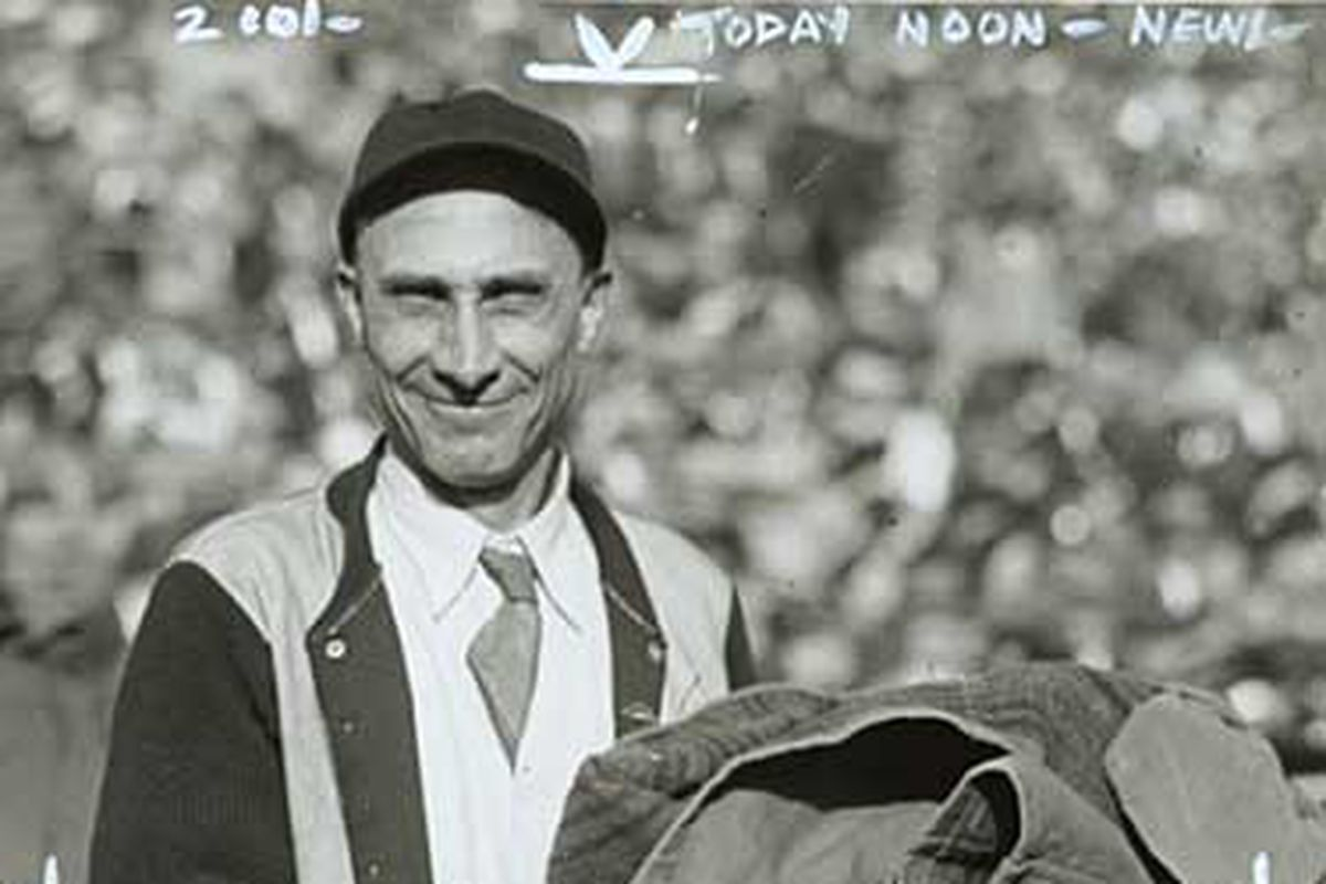 Oscar, Janitor and Equipment Manager in 1935