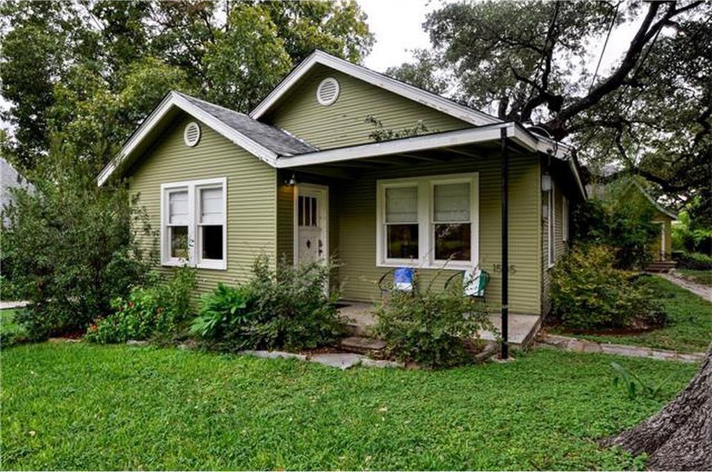 light green 1930s cottage
