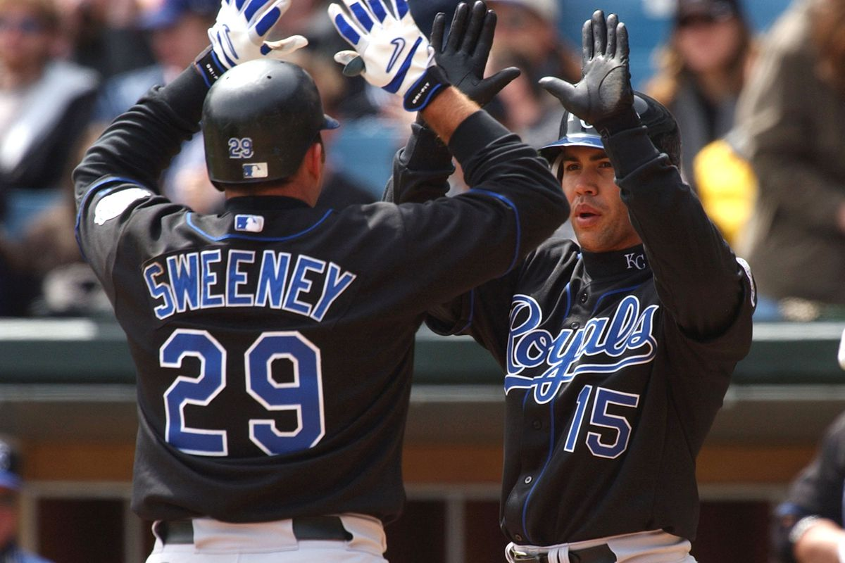 Sweeney and Beltran - love the black and blues