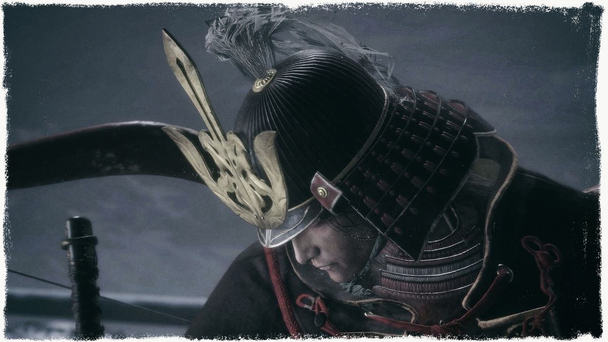 a close-up of Genichiro Ashina in Sekiro: Shadows Die Twice