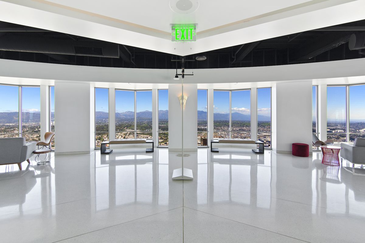 The 72nd Floor Penthouse Of US Bank Tower Building Kennedy Wilson