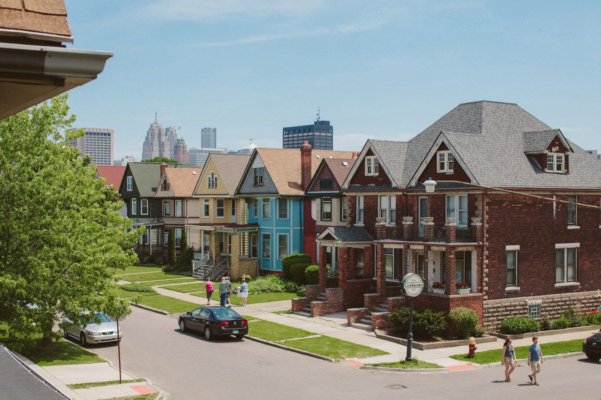 Corktown Residents Michelle And Chris Gerard Tell Us About Their Hood Curbed Detroit