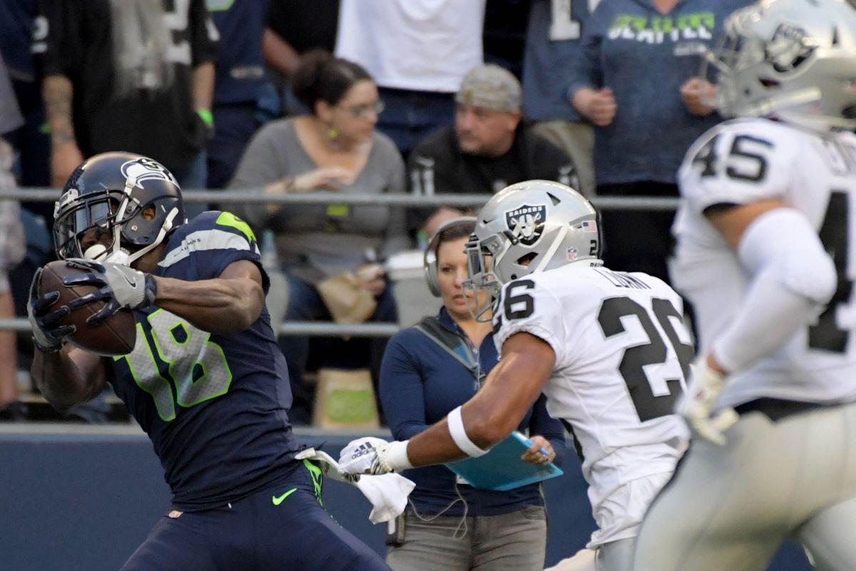 NFL: Oakland Raiders at Seattle Seahawks