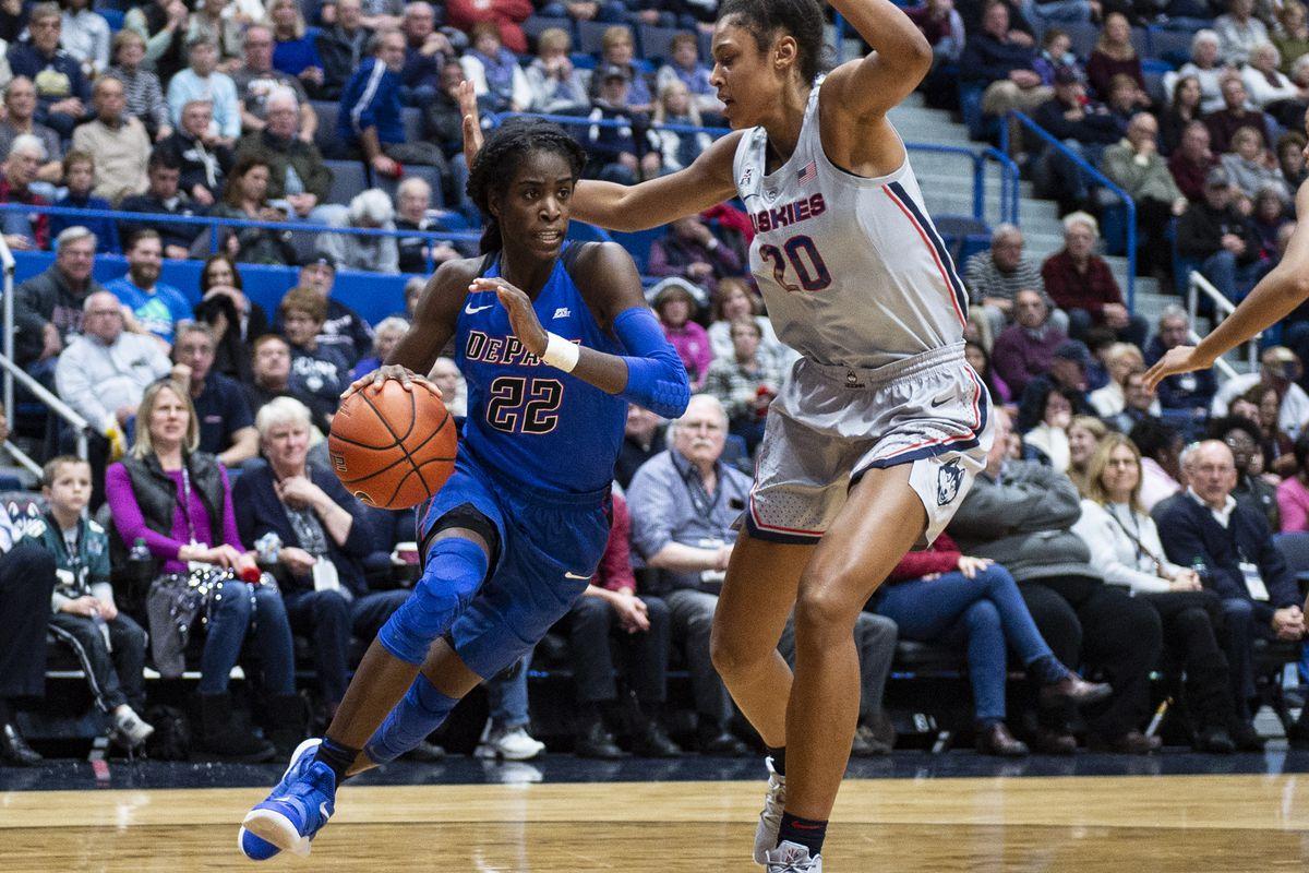 COLLEGE BASKETBALL: NOV 28 Women's DePaul at UConn