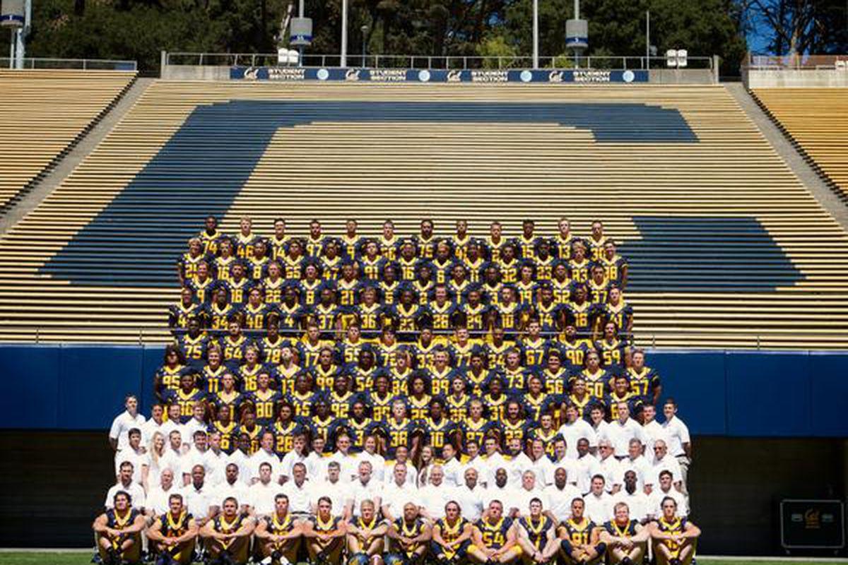Cal football team photo