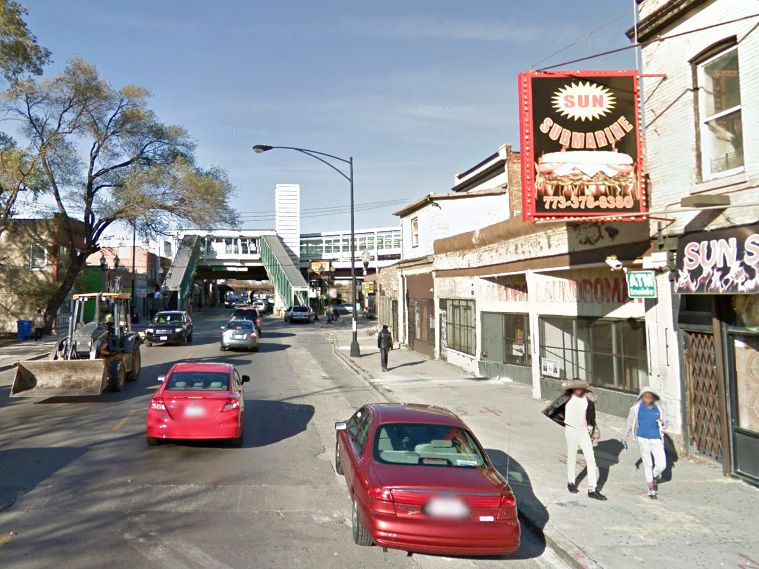 The man was shot in the 5200 block of West Lake Street.   Google Maps