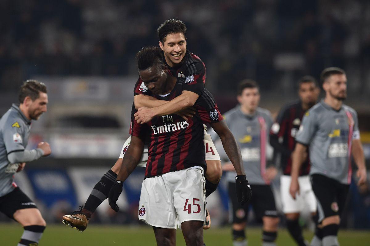 Balotelli impressed in September's Derby Della Madonnina