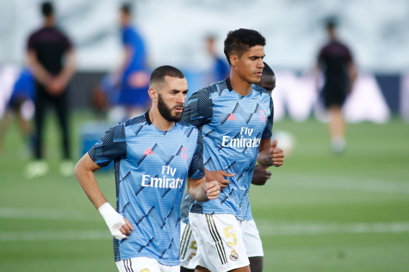 Varane: ?Benzema is at the peak of his game right now?