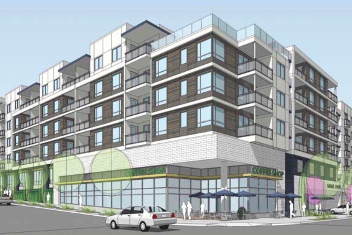 Rendering of 1800 West Beverly Boulevard