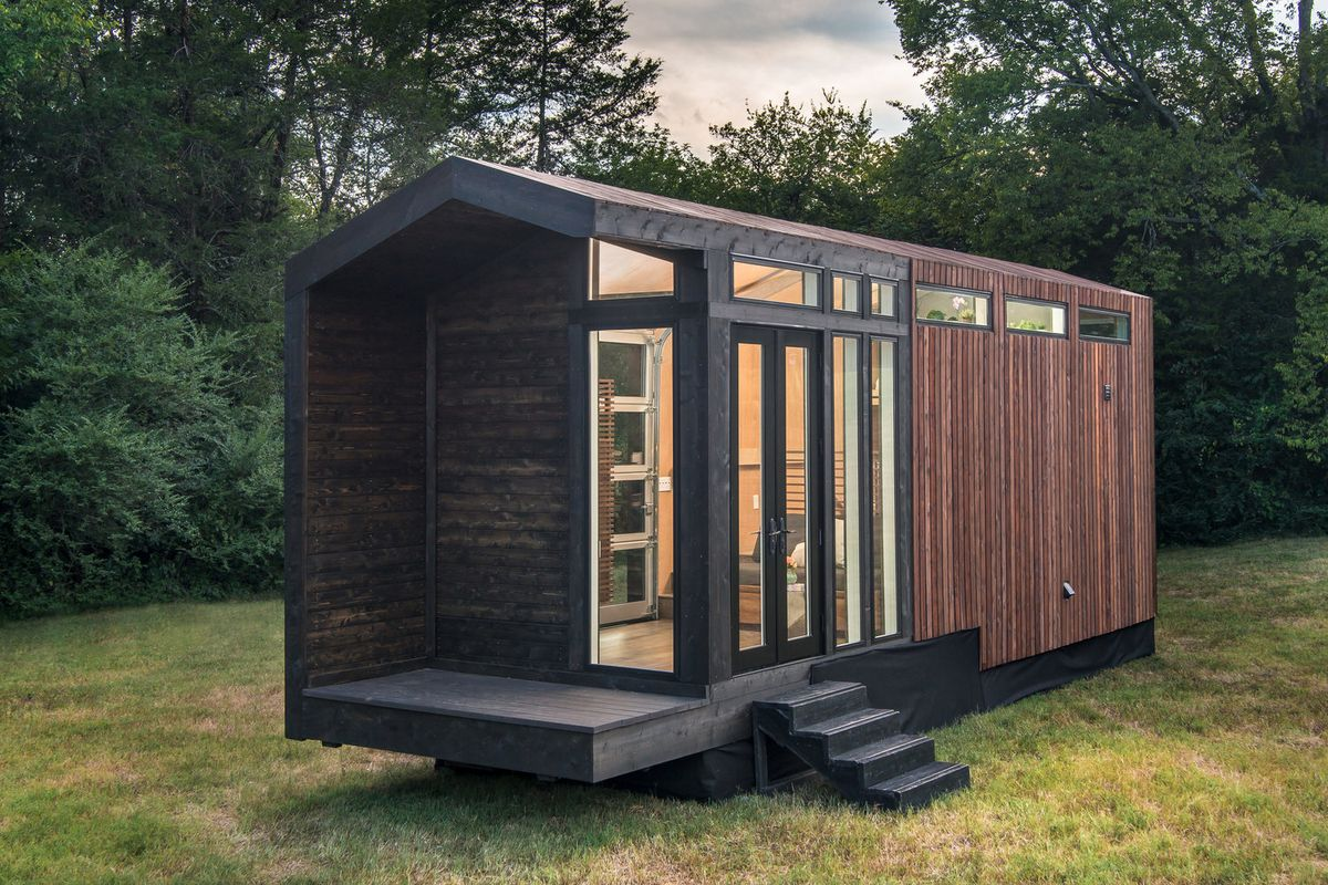 Tiny house for sale embraces modern farmhouse style - Curbed