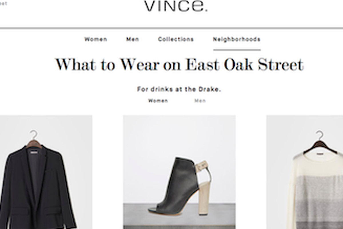 "Photo: <a href=""http://www.vince.com/neighborhoods/east-oak-street/icat/eastoakstreet&amp;bklist=icat,4,,neighborhoods,eastoakstreet"">via</a> Vince.com"