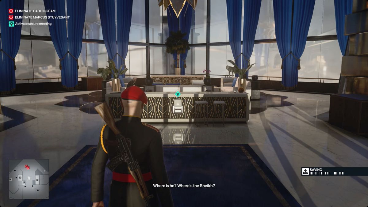 Hitman 3 Dubai On Top Of The World How The Mighty Fall Mission Story walkthrough