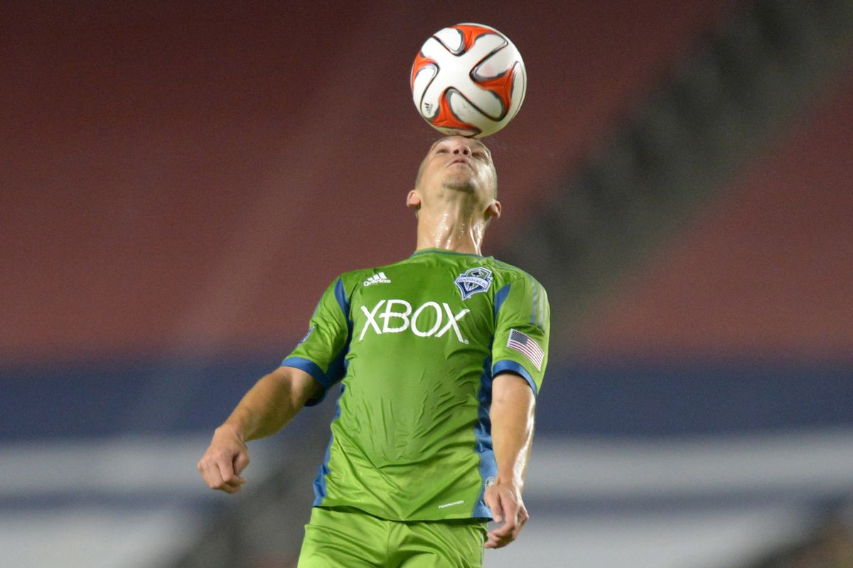 The stands were full to watch the Sounders play Chivas USA... full of empty seats!