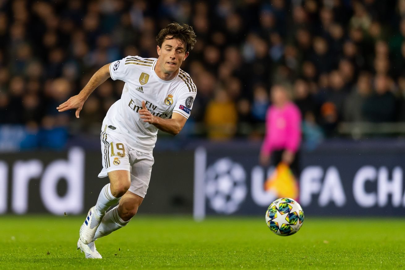 OFFICIAL: Bayern Munich has signed Alvaro Odriozola from Real Madrid on loan until the end of the season