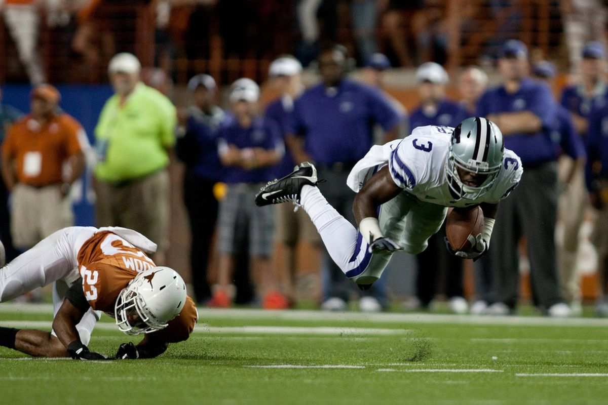 Chris Harper already was a pretty darn good wide receiver. But against Texas A&M and Texas, he took it to an elite level. If he keeps it up this year, he could end up an All-Big 12 wide receiver — on a running team.