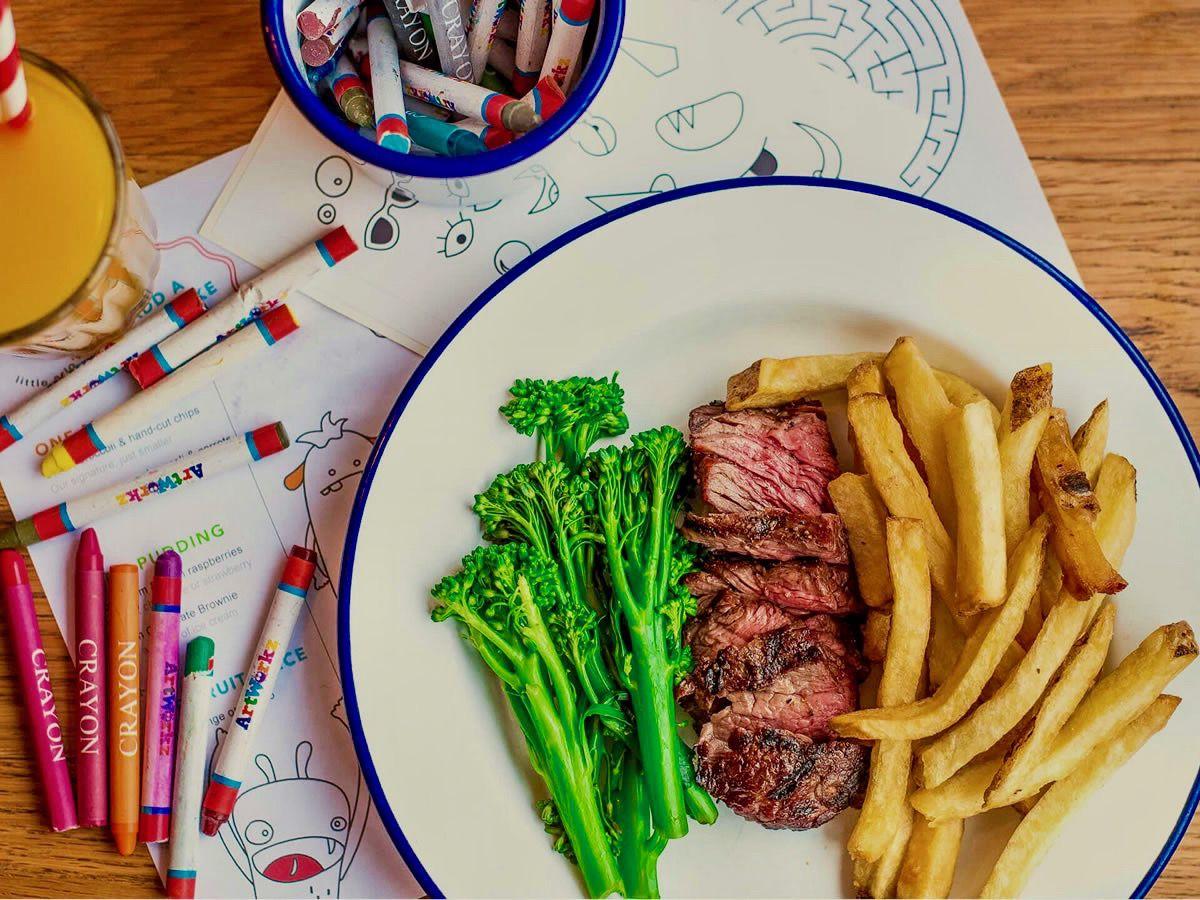 steak at Arlo's, one of Balham's best restaurants