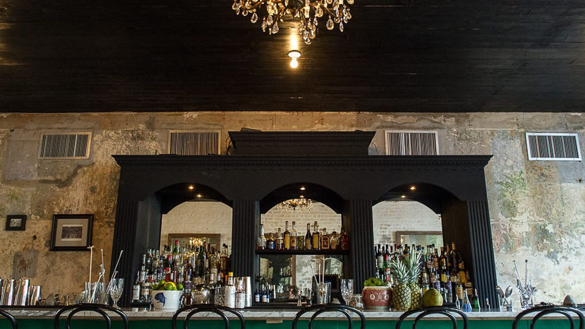 Inside Cane & Table, participated in many an event this  Daiquiri Season