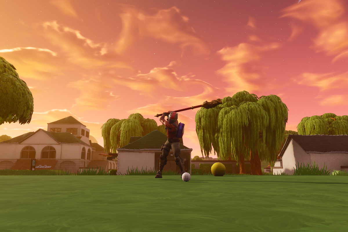 Fortnite Season 5 golf gameplay footage is surprisingly accurate