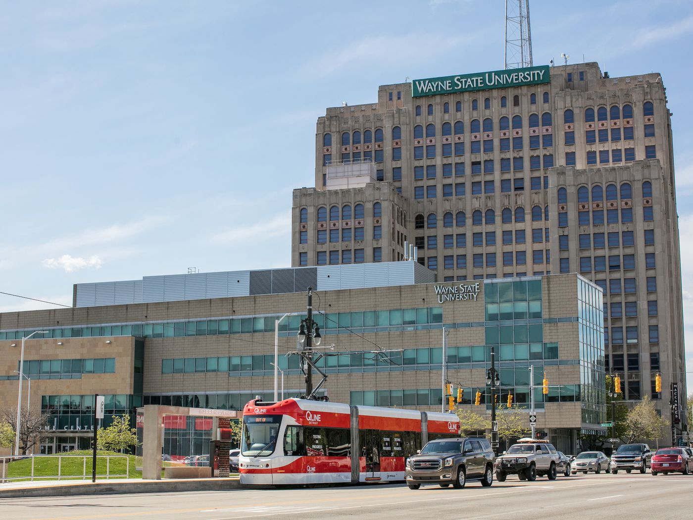 First Look At Wayne State University S Master Plan Curbed Detroit