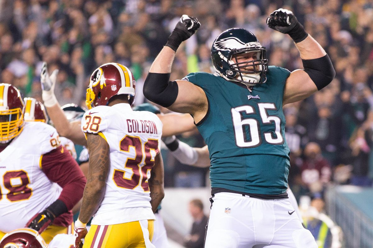 Lane Johnson says the Eagles are going to whup some ass against