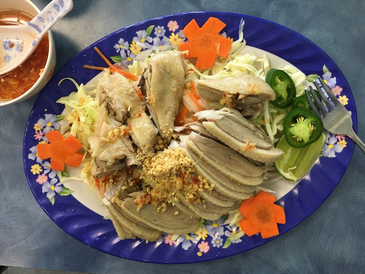 Nhu Thuy's duck salad.