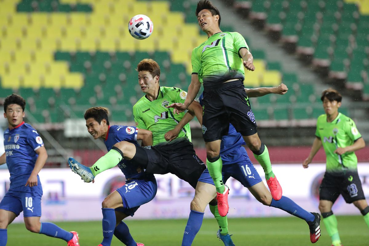 Jeonbuk Hyundai Motors v Suwon Samsung Bluewings - K League 1