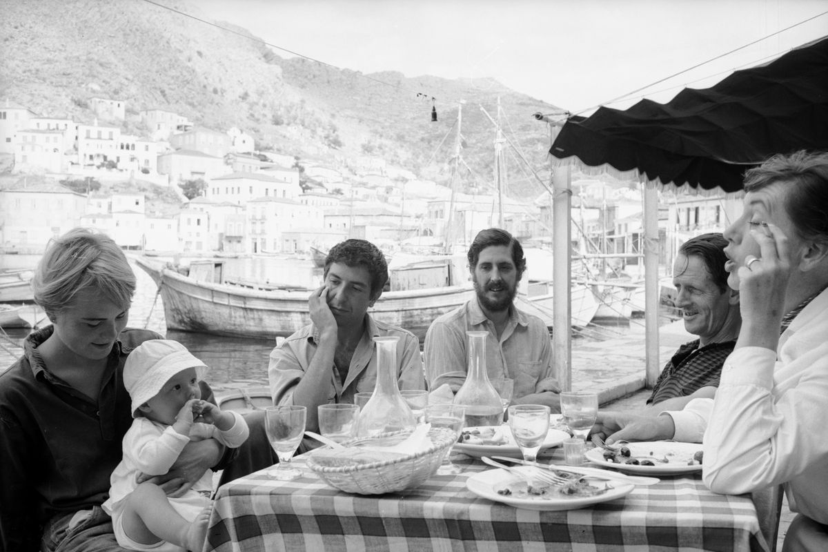 Cohen & Others In Greece