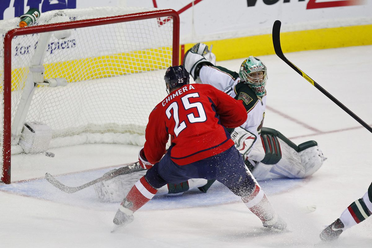 Not sure there is a goalie out there who makes this save.