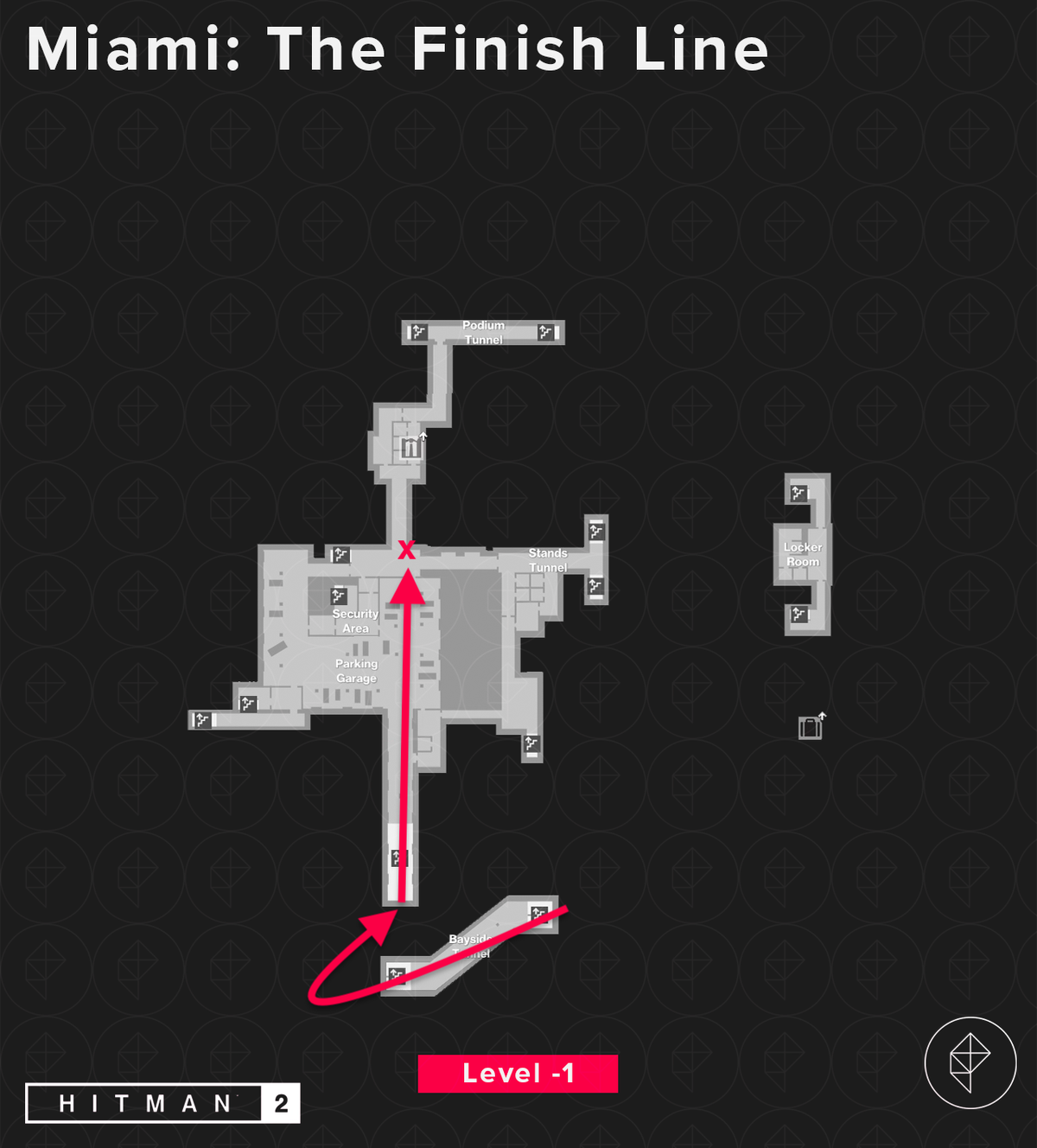 Hitman 2 Miami The Finish Line Mission Stories