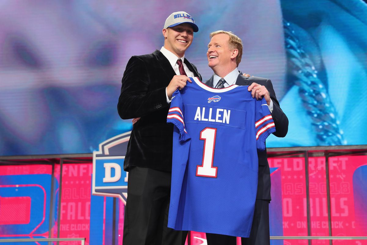 buy popular fd71d 6a460 The Bills' GM explained vetting Josh Allen after those old ...