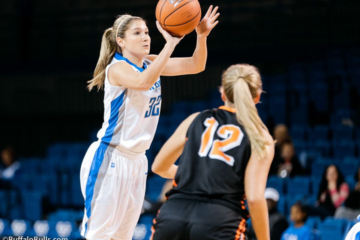 Sloane Walton is one of a half-dozen players who can light it up for the Bulls.