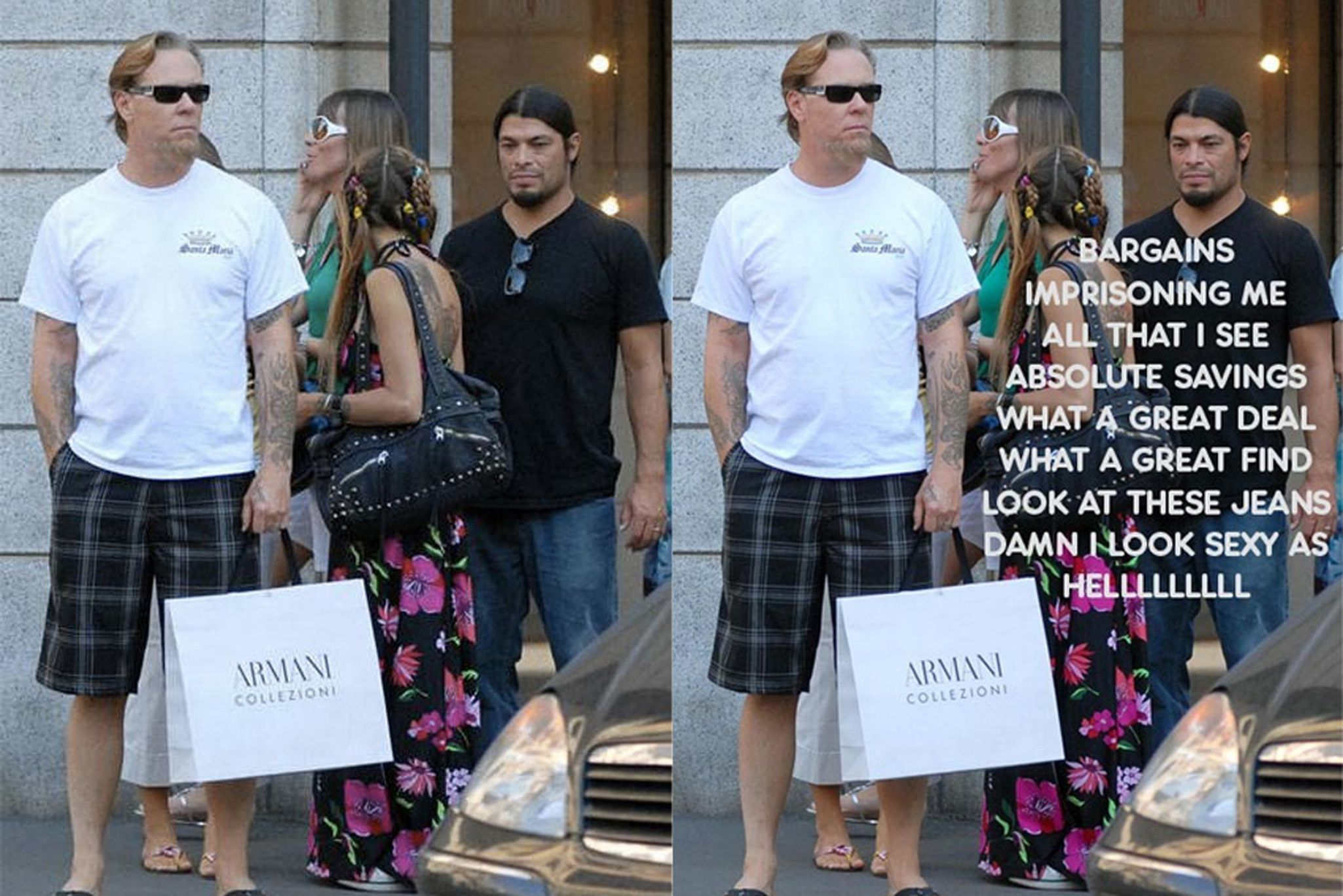 Shopping Metallica: the history of an extremely unfortunate