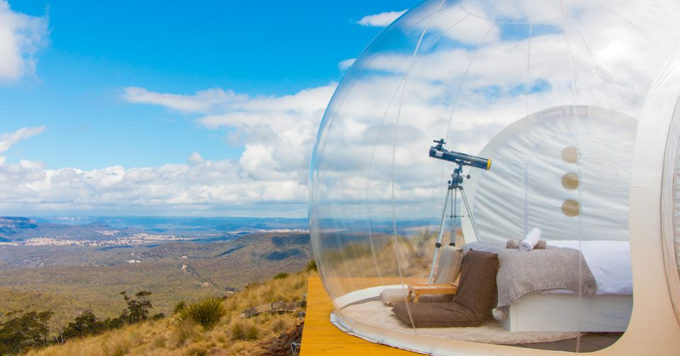 Bubble Tents Let You Get Close To Nature But Not Too