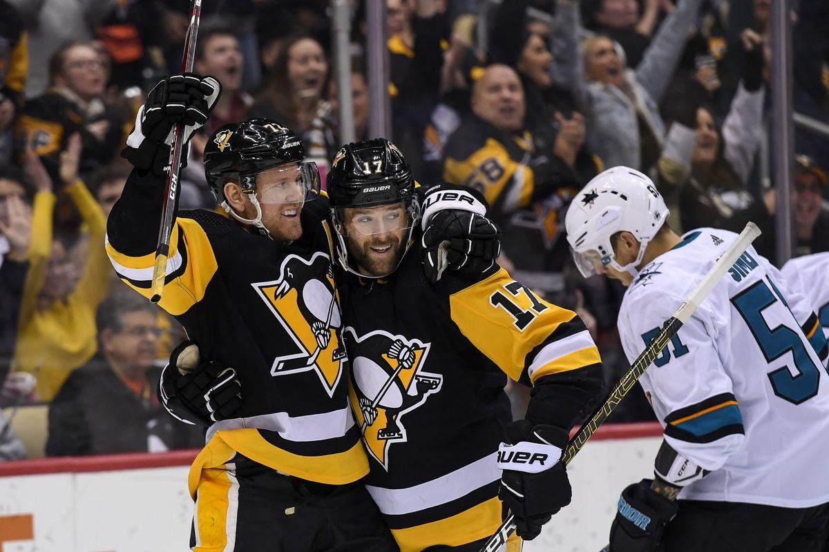 NHL: JAN 02 Sharks at Penguins