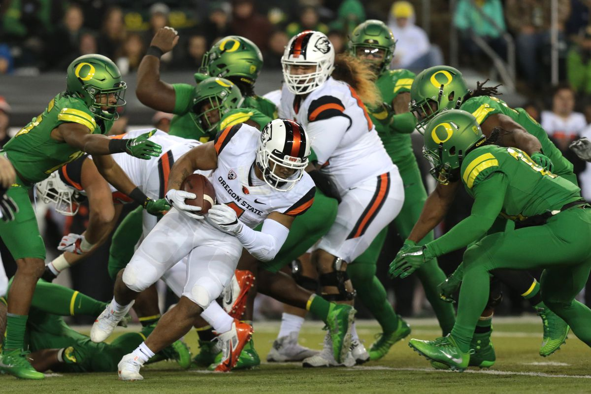 Oregon State Football What We Learned From The Civil War Game