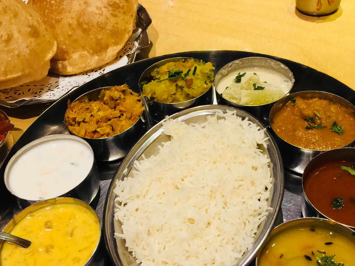 Udupi thali at Sagar in Hammersmith, one of the best Indian restaurants in London