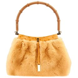 This vintage version is mink & ostrich and it's still cheaper than a newer version! *faints*