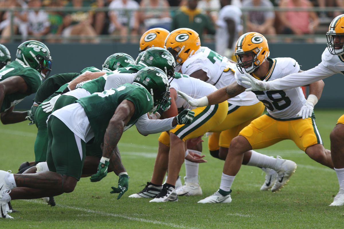 NFL: AUG 19 Green Bay Packers Training Camp