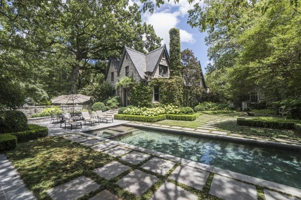 The Manor House is restored and offered at $3.4 million.