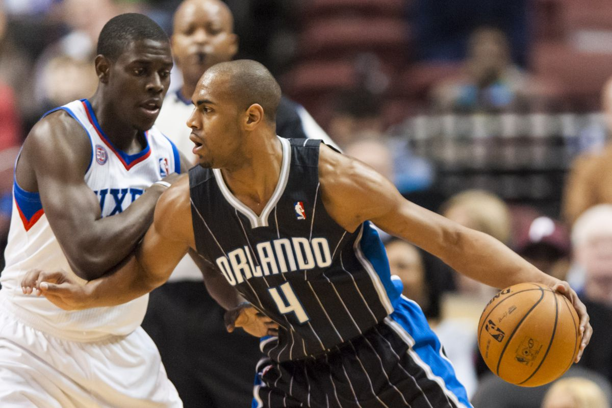 Jrue Holiday and Arron Afflalo