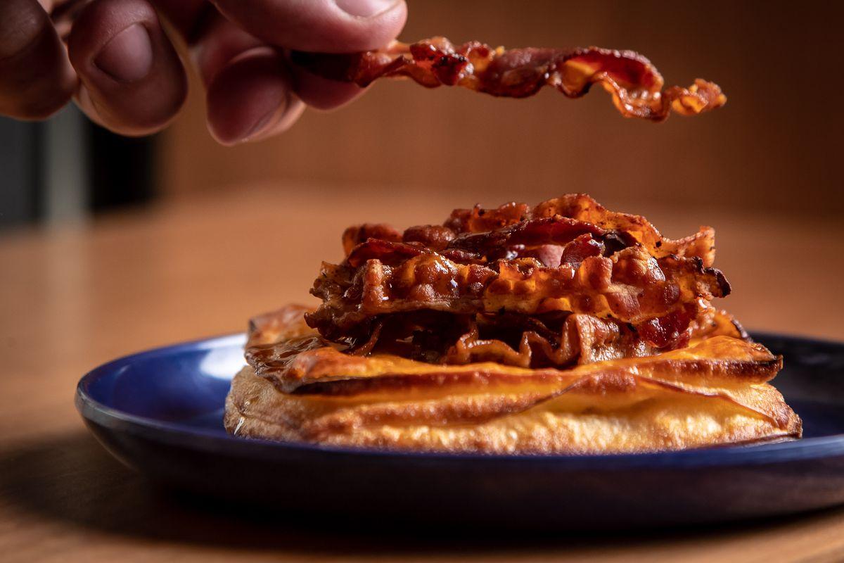 Bourke Street Bakery maple bacon danish