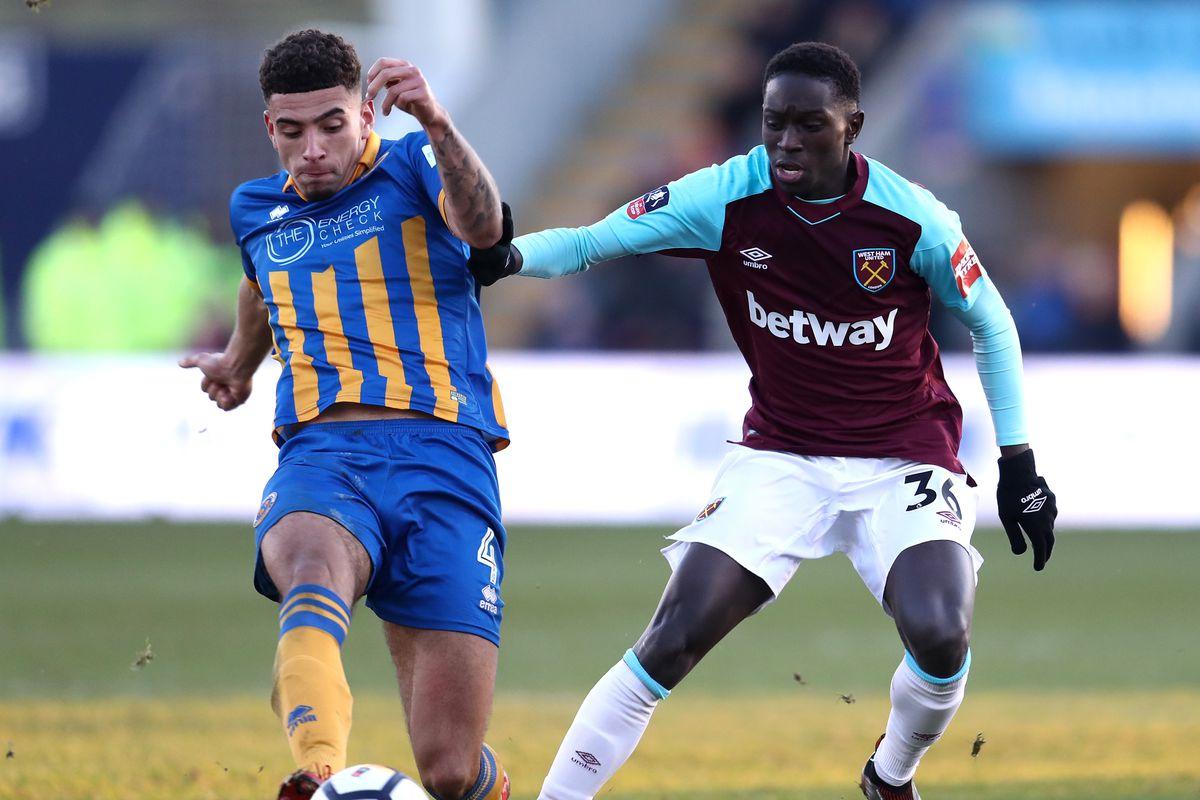 Shrewsbury Town v West Ham United - The Emirates FA Cup Third Round